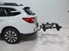 Kuat Tilt-Away Rack,Fold-Up Rack Hitch Bike Racks - TS03G on 2016 Subaru Outback Wagon