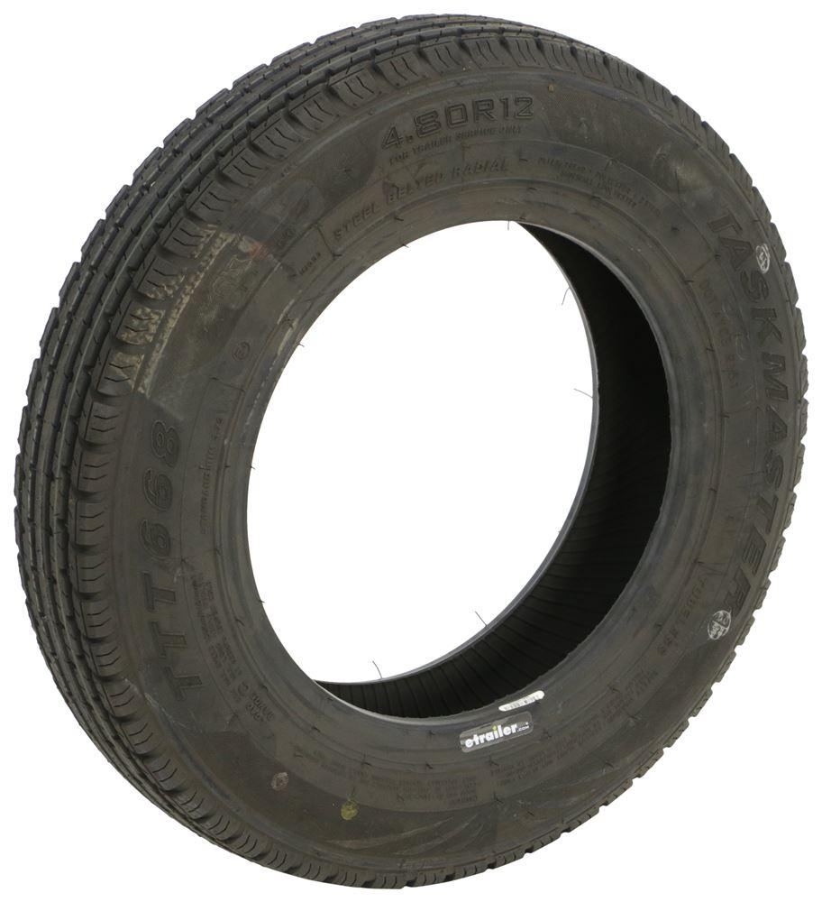 Taskmaster 4.80R12 Radial Trailer Tire - Load Range C 4.80-12 TT48012C