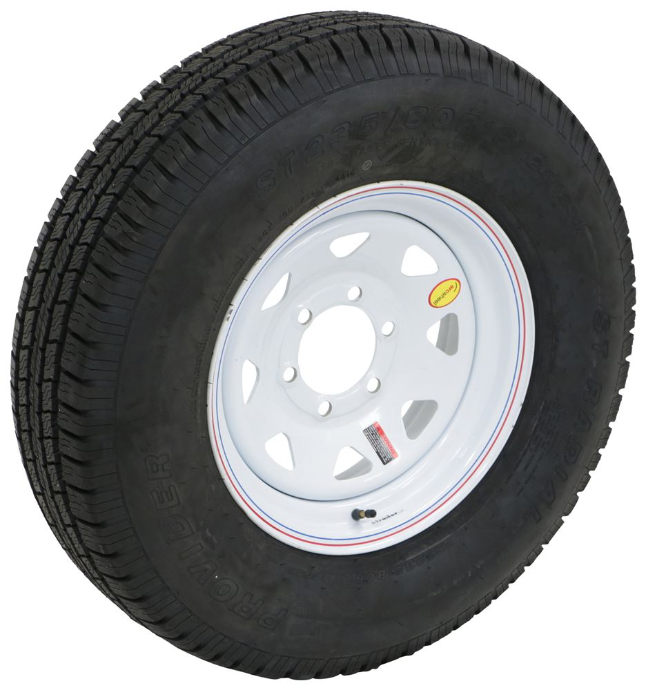 TTWA16RTK6WS - Load Range E Taskmaster Tire with Wheel