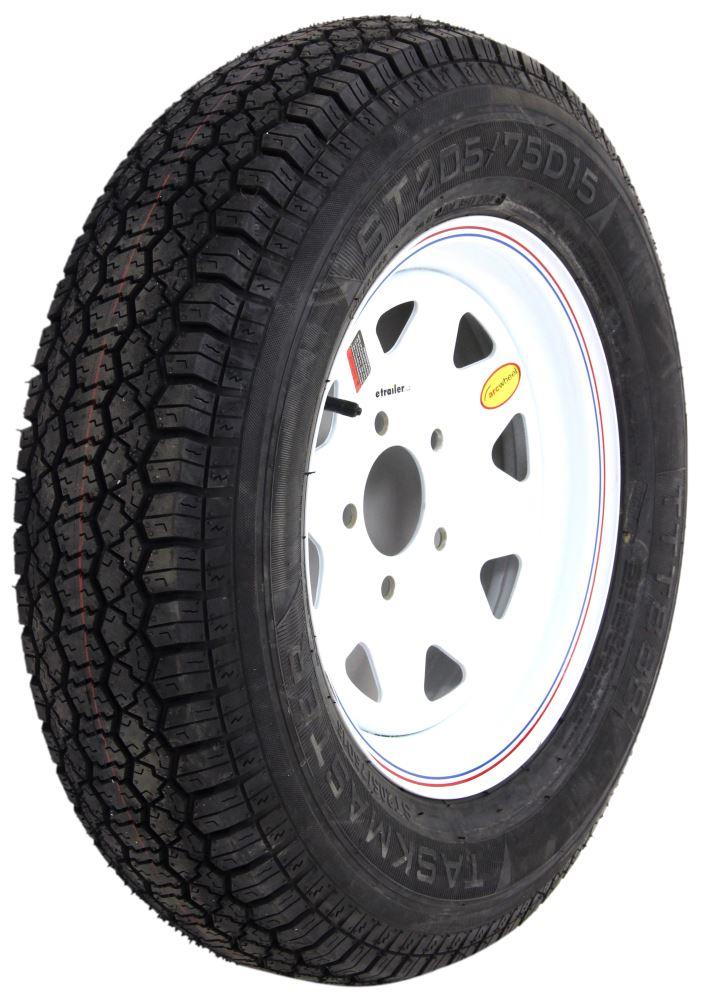 Taskmaster Steel Wheels - Powder Coat Trailer Tires and Wheels - TTWAS15B5WS