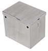 "Tow-Rax Battery Box - Polished Aluminum - 12"" Long x 8-5/8"" Wide x 10-7/16"" Tall Aluminum - Polished TWSP12BP"