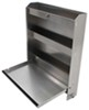 "Tow-Rax Aluminum Storage Cabinet w/ Folding Tray - 30"" Tall x 27"" Wide - Ma 6 Inch Wide TWSP30CSA"