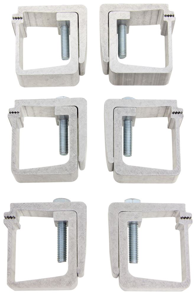 Replacement Mounting Clamps for TruXedo Tonneau Covers - Qty 6 Clamps TX1703561
