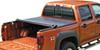 TX243301 - Top of Bed Rails - Covers Stake Pockets Truxedo Tonneau Covers