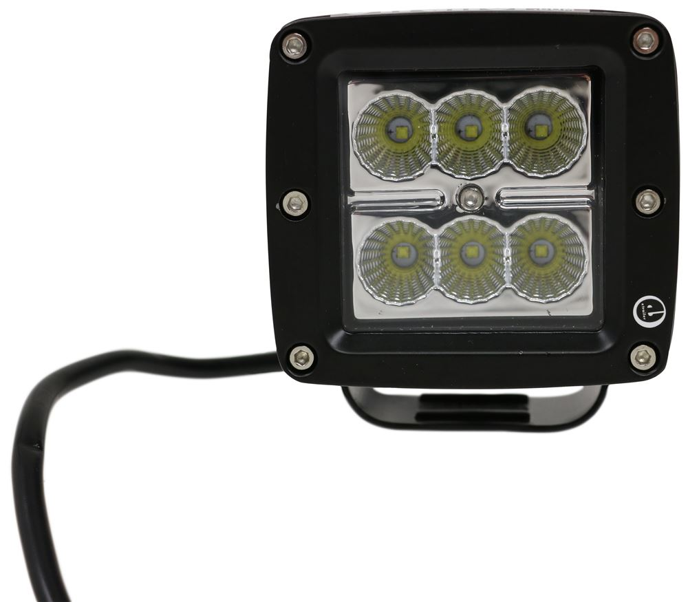 Optronics UCL24CB LED 3 Flood Light Cube Post Mount