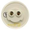 optronics trailer lights utility 2 inch diameter miro-flex led light - submersible 9 diodes round 12v/24v clear lens