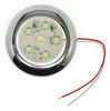 Optronics LED RV Utility Light - Submersible - 168 Lumens - Round - Chrome Trim - Clear Lens 12V UCL60CB