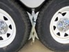 0  wheel chocks ultra-fab products trailer chock rv steel in use