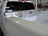 UWS Truck Bed Toolbox - Narrow Crossover - Low Profile - Slim Line - 3.5 cu ft - Bright Aluminum Aluminum UWS00156 on 2012 Chevrolet Silverado