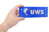 Replacement Blue UWS Logo Badge - Qty 1 UWS002-UWS