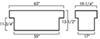 UWS Lid Style - Low Profile Truck Tool Box - UWS00368