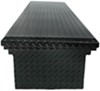 UWS Truck Bed Toolbox - Crossover Style - Low Profile Series - 8.4 cu ft - Gloss Black Medium Capacity UWS00375