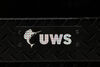 UWS Truck Bed Chest - Wedge Series - Offset Lid - Notched Box - 12 cu ft - Gloss Black 17 Inch Tall UWS01048