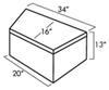 Trailer Tool Box UWS04531 - Aluminum - UWS