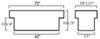 uws truck tool box lid style - standard profile medium capacity manufacturer