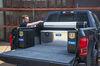 UWS Truck Bed Chest - Secure Lock Under Tonneau Series - 8.85 cu ft - Bright Aluminum Tool Box UWS08297