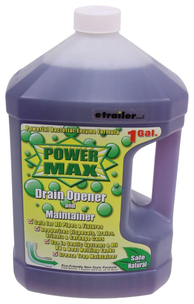 Valterra Power Max Drain Opener and Maintainer - 1 Gallon 1 Gallon Bottle V11002