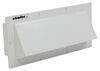 """Ventline Exterior Wall Vent for RV Range Hood - Locking Damper - 1-3/4"""" Collar - White White V2111-13"""