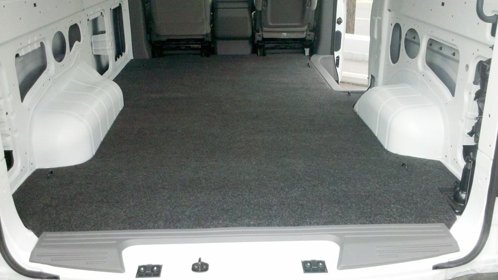 2017 Gmc Savana Van Vanrug Custom Floor Mat For Cargo Vans Charcoal Gray Carpet
