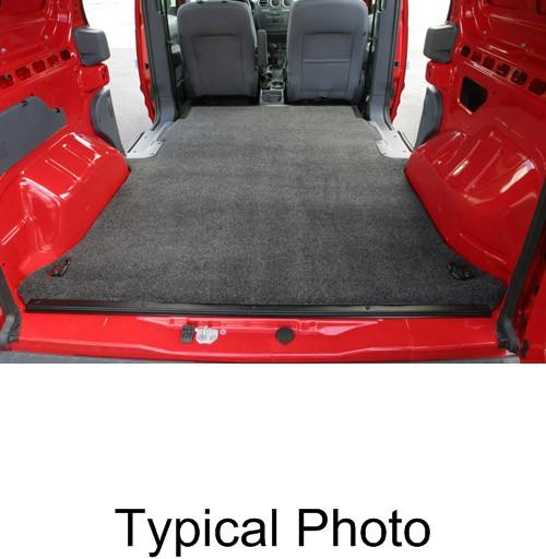 Vanrug Custom Floor Mat For Cargo Vans Charcoal Gray Carpet Bedrug Cargo Van Mats Vrtc11