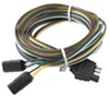 wesbar accessories and parts harness extension wiring for agricultural lights - wishbone style 15' long