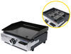 way interglobal rv stoves and ovens griddle greystone outdoor grill - stainless steel 12 000 btu 17 inch wide