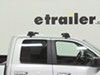 Whispbar Through Bar Roof Rack - Aluminum - 2 Crossbars 58 In Bar Space WB-S18 on 2013 Dodge Ram Pickup