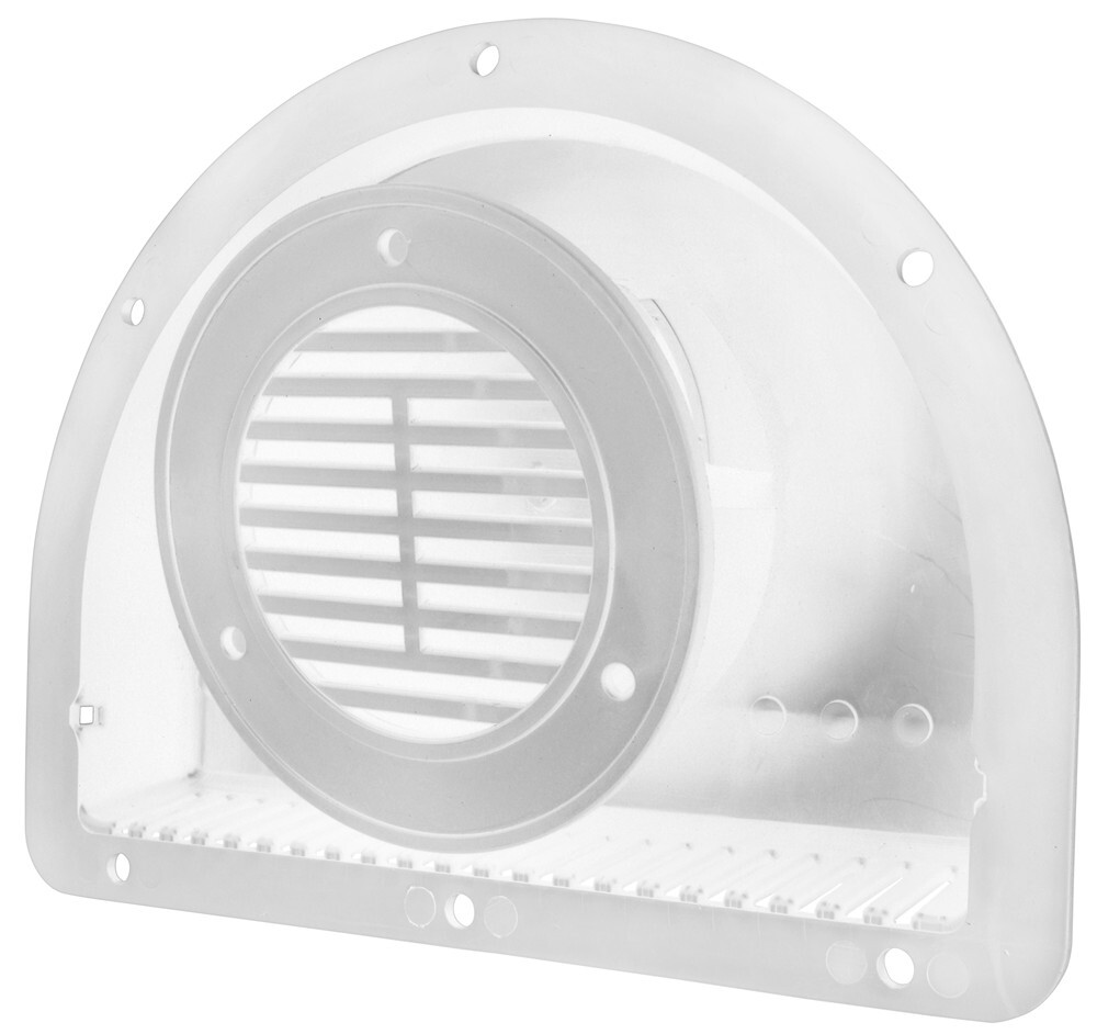 Enclosed Trailer Parts WHMAV2-WAVT2 - White - Redline