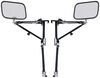 "Wheel Masters Vision Plus Extendable Towing Mirrors - Strap On - 9"" Wide x 6"" Tall - Pair 9L x 6T Inch WM6500"
