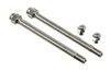 wheel masters tire inflation and repair valve extenders pressure - straight 4 inch long qty 2
