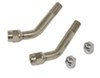 Wheel Masters Tire Pressure Valve Extenders - 45-Degree Bend - Front Wheels - Qty 2 45 Degree Bend WM8029