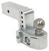 "Weigh Safe 2-Ball Mount w/ Built-In Scale - 2-1/2"" Hitch - 4"" Drop, 5"" Rise - 18.5K Fits 2-1/2 Inch Hitch WS4-25"