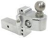 "Weigh Safe 2-Ball Mount w/ Built-In Scale - 2-1/2"" Hitch - 4"" Drop, 5"" Rise - 18.5K Drop - 4 Inch,Rise - 5 Inch WS4-25"
