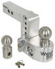 WS4-2 - Stainless Steel Ball Weigh Safe Adjustable Ball Mount