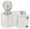 weigh safe trailer hitch ball mount two balls drop - 6 inch rise 7