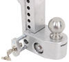 WS6-2 - Two Balls Weigh Safe Trailer Hitch Ball Mount