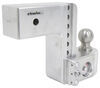 "Weigh Safe 2-Ball Mount w/ Built-In Scale - 3"" Hitch - 6"" Drop, 6"" Rise - 21K Stainless Steel Ball WS6-3"