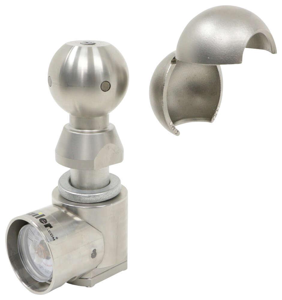 Trailer Hitch Ball WSUN-1 - Interchangeable Ball Set,Tongue Weight Scale Ball - Weigh Safe