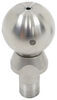 "Weigh Safe 2-5/16"" Hitch Ball w/ Built-In Scale - Stainless Steel - 10,000 lbs GTW 2-5/16 Inch Diameter Ball WSUN-3"