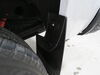 2018 chevrolet silverado 1500 mud flaps weathertech custom fit no-drill install - easy-install digital front and rear set