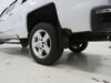 2018 chevrolet silverado 1500 mud flaps weathertech front and rear set no-drill install on a vehicle