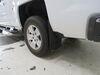 2018 chevrolet silverado 1500 mud flaps weathertech front and rear set custom width wt110035-120035