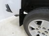 2018 chevrolet silverado 1500 mud flaps weathertech custom fit front and rear set on a vehicle