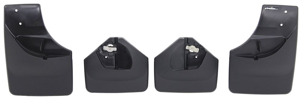 Mud Flaps WT110051-120051 - No-Drill Install - WeatherTech