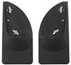 WeatherTech Mud Flaps - Easy-Install, No-Drill, Digital Fit - Rear Pair Mounts Inside Fenders WT120001