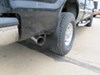 WeatherTech Mud Flaps - Easy-Install, No-Drill, Digital Fit - Rear Pair Rear Pair WT120001 on 2003 Ford F-250 and F-350 Super Duty