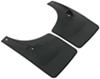 WeatherTech Mud Flaps - Easy-Install, No-Drill, Digital Fit - Rear Pair Plastic WT120024