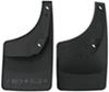 WeatherTech Mud Flaps - Easy-Install, No-Drill, Digital Fit - Rear Pair Mounts Inside Fenders WT120024