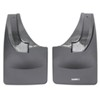 weathertech mud flaps no-drill install custom width - easy-install digital fit rear pair