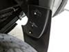 WeatherTech Mud Flaps - Easy-Install, No-Drill, Digital Fit - Rear Pair Custom Width WT120036 on 2016 GMC Sierra 2500